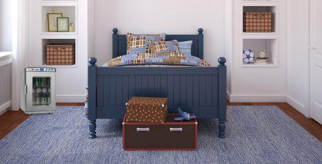 Protect Your Snacks In Secret Bedroom Mini Fridge